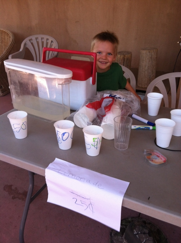 The lemonade salesman