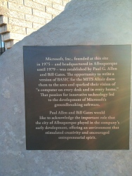 The plaque