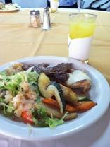 Lunch!!! :) Delish.