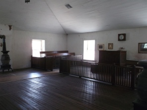 The room where Billy was jailed
