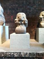 Mictecacihuatl, Aztec goddess of the dead. Presumably influenced José Guadalupe Posada and his calaveras