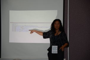 Keya Horiuchi, talking about WP and Mapping