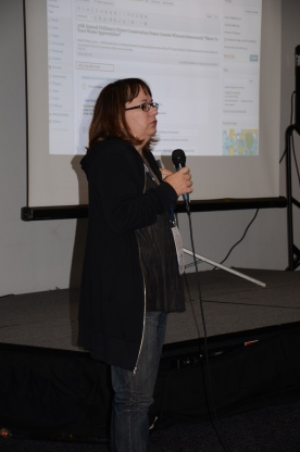 Melissa J. White, talking about SEO for WordPress Sites: How To Find and Implement a Sweet Strategy for Getting Noticed