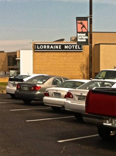 Lorraine Motel where MLK was shot
