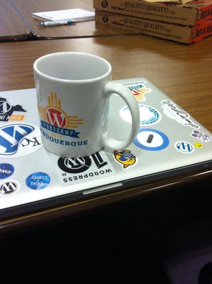 Mug and laptop