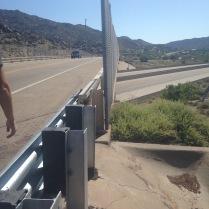Crossing I-40