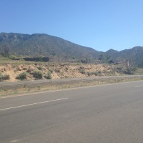 Scenery en route to Tijeras