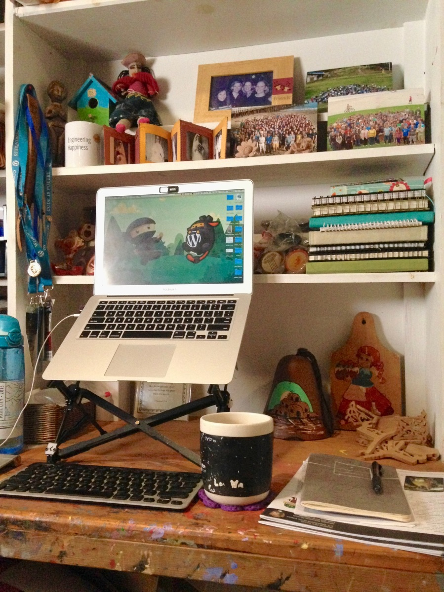 All the Hats: Working from Home Chaos