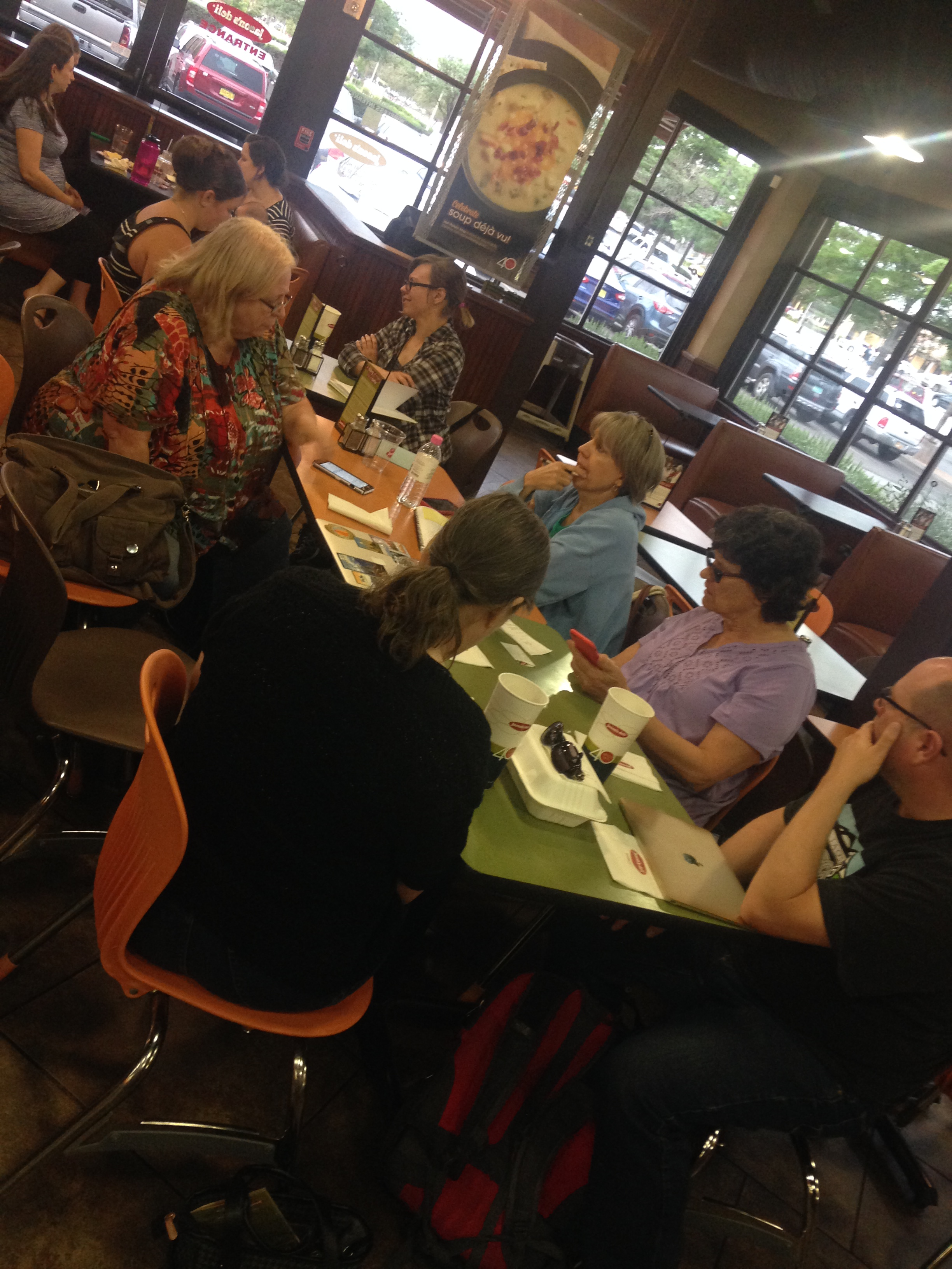 Women Working with WordPress at Jason's Deli